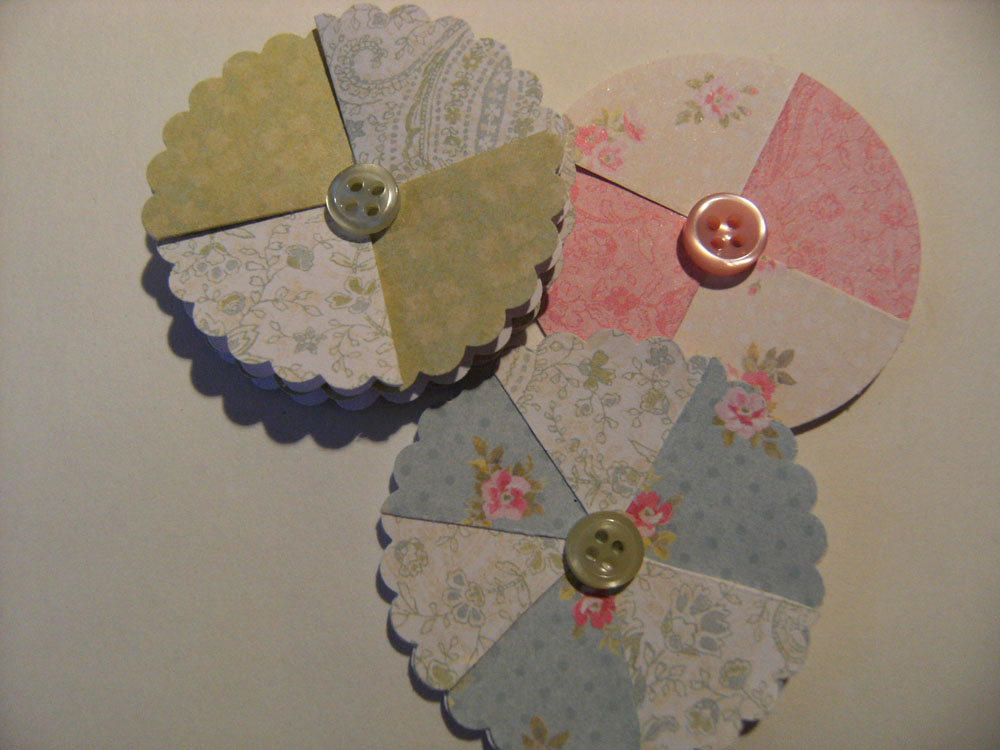 Lizzie made paper flower tutorial three flowers made from circles paper flower tutorial three flowers made from circles mightylinksfo
