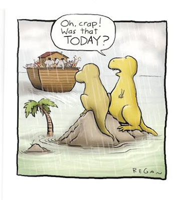 What really happened to the dinosaur