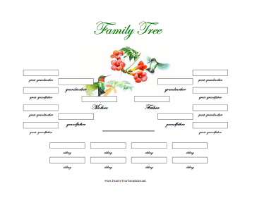 Family Tree Template Word | New Calendar Template Site
