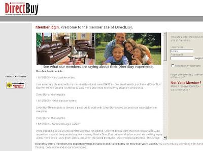 DirectBuy Login : Directbuy.com Member Login
