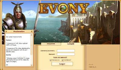 WWW.EVONY.COM - Evony Game Login