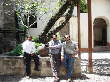 Maestros Edgar Meza y Luis Paiva