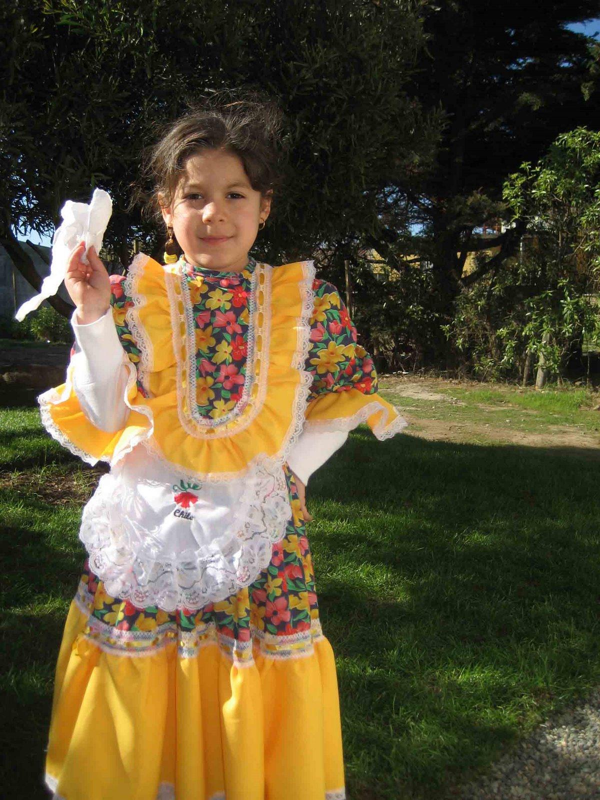 Gabi vestida de Chinita