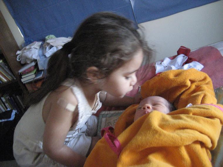 Con la hermanita