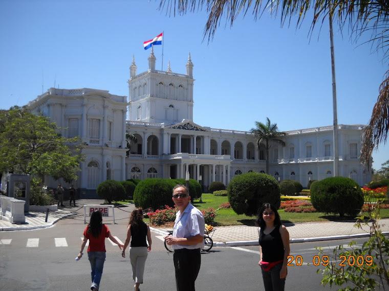 Palacio de Gobierno en Asunción