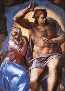 Michelangelo - Cristo Giudice