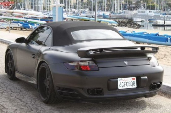David Beckhams Black Porsche On eBay   Ramblings of an e