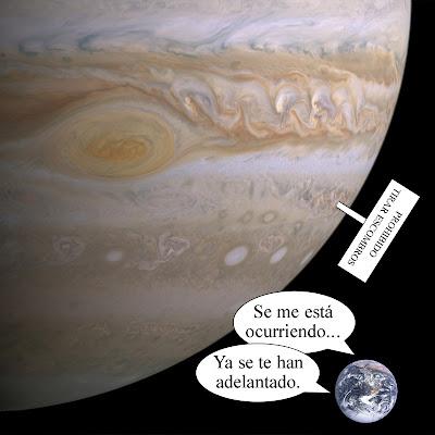 Jupiter como basurero