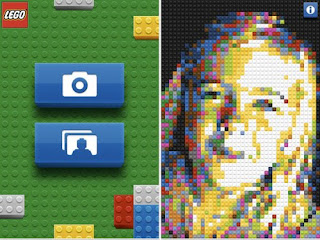 Lego iPhone application