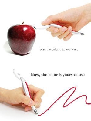 Color Picker - the pen that can pick the colour of actual objects