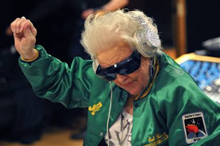 DJ Granny rocks the clubs in Paris