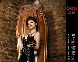 Sexy Coffin Calendar