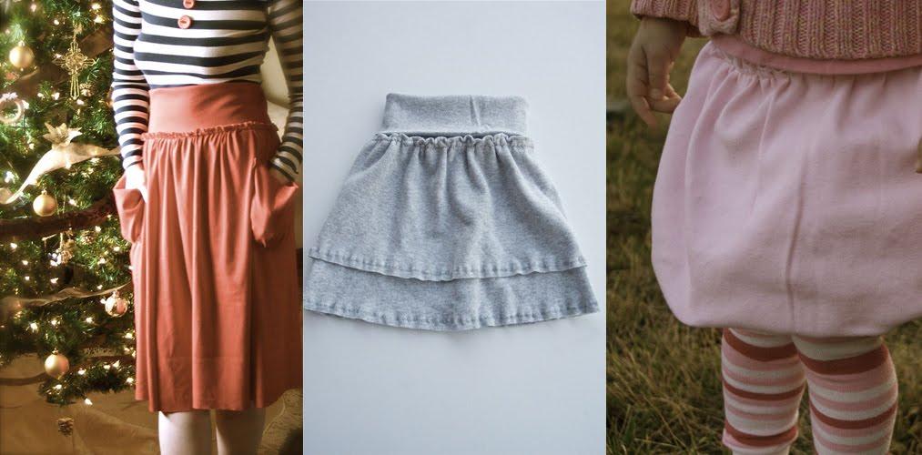 Tutorial The Jersey Skirt