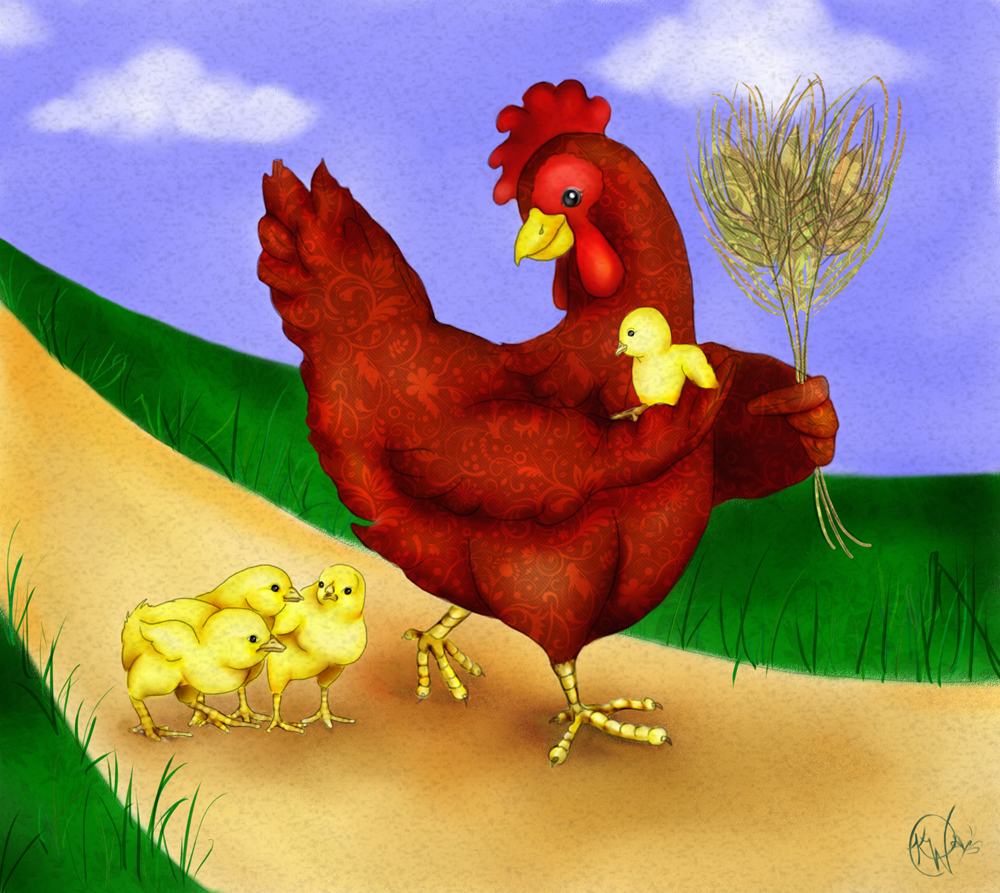 Comparing Two Versions Of The Little Red Hen