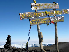Atop Mt. Kilimanjaro, 23-Sept-09.