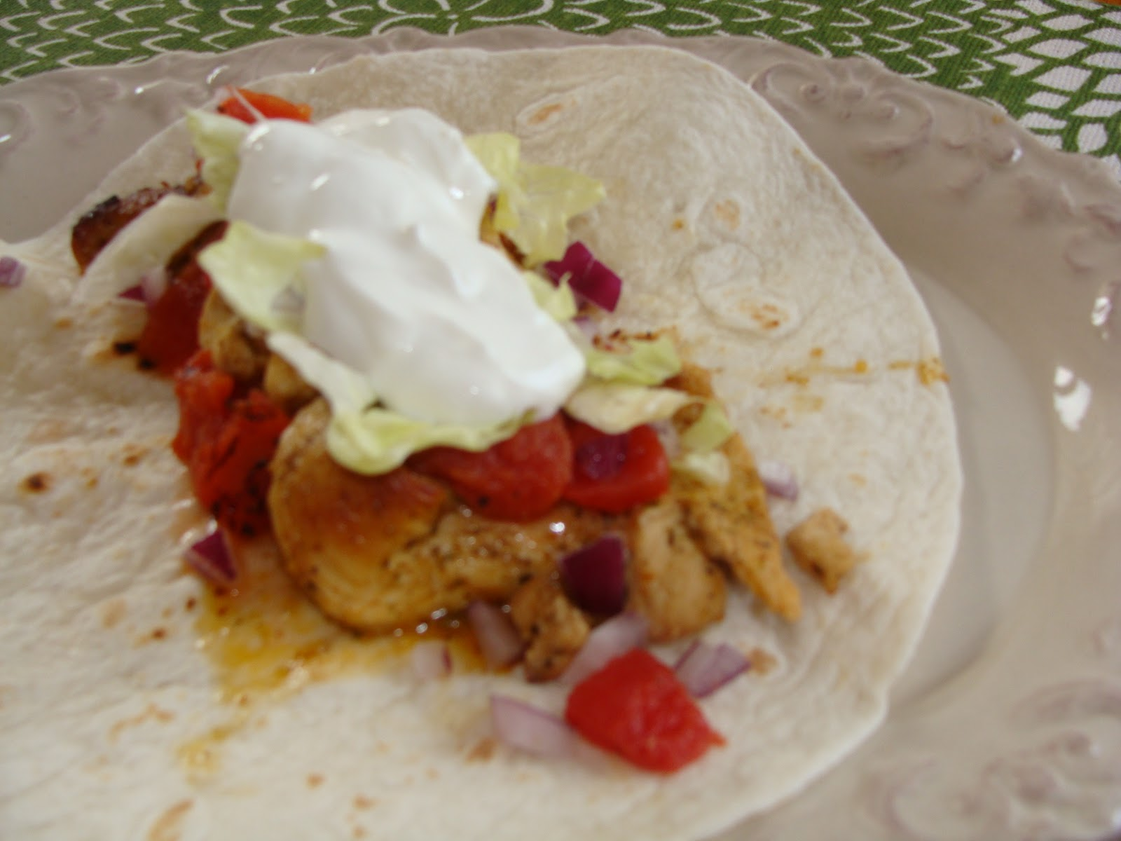 Just Cooking: Mojito Lime Chicken Tacos