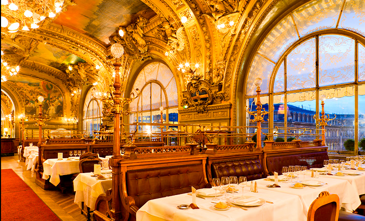 Célèbre POSTCARDS FROM THE AIR: RESTAURANT LE TRAIN BLEU PARIS MP71