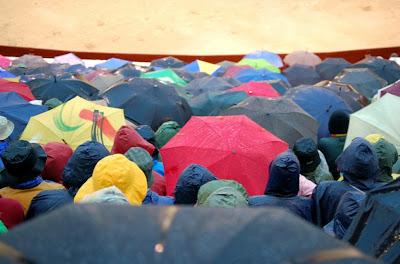 Paraguas en Las Ventas, por Lupimon