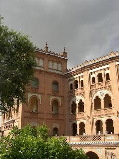 Detalle de la Plaza de Toros Monumental de Las Ventas del Espíritu Santo (Madrid)