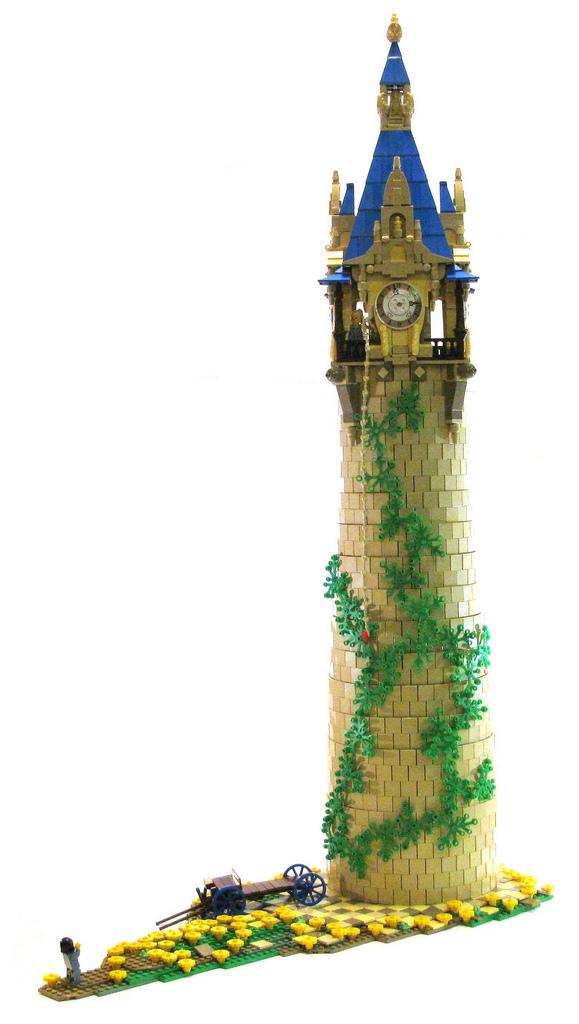 rapunzels tower lego