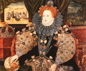 Redhead Queen Elizabeth I