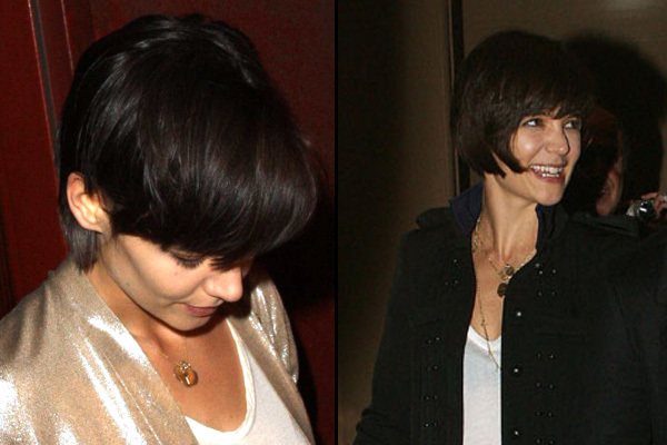 katie holmes short haircut photos. hairstyle, Katie Holmes