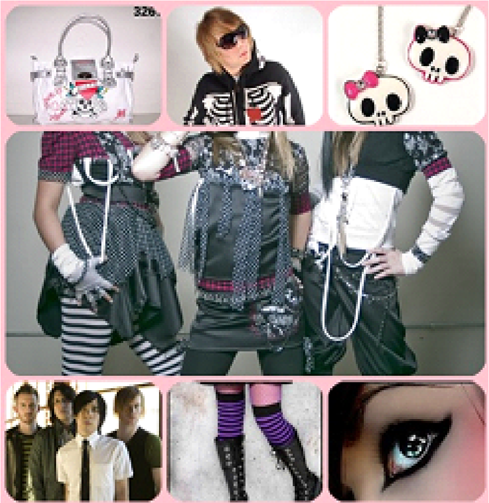 cool emo clothes