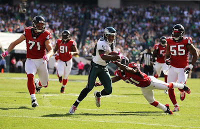 There's Only Room for One Bird in the Nest! Eagles Oust the Falcons
