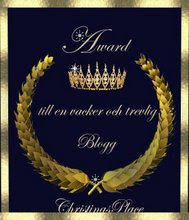 Blog levande award