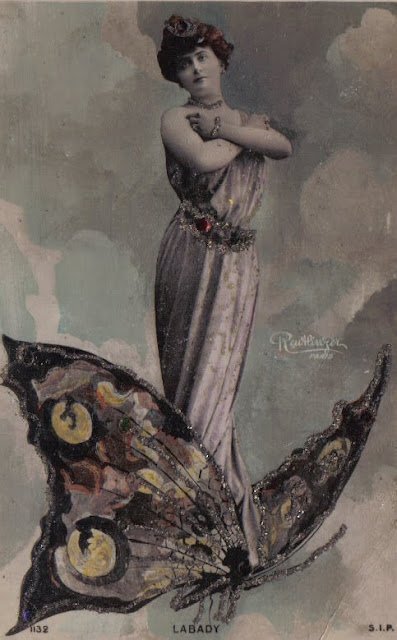 Butterflies by Reutlinger, Paris