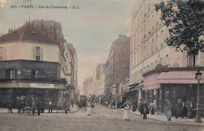 Paris - 1908 - Rue de Charenton has existed since Roman times.