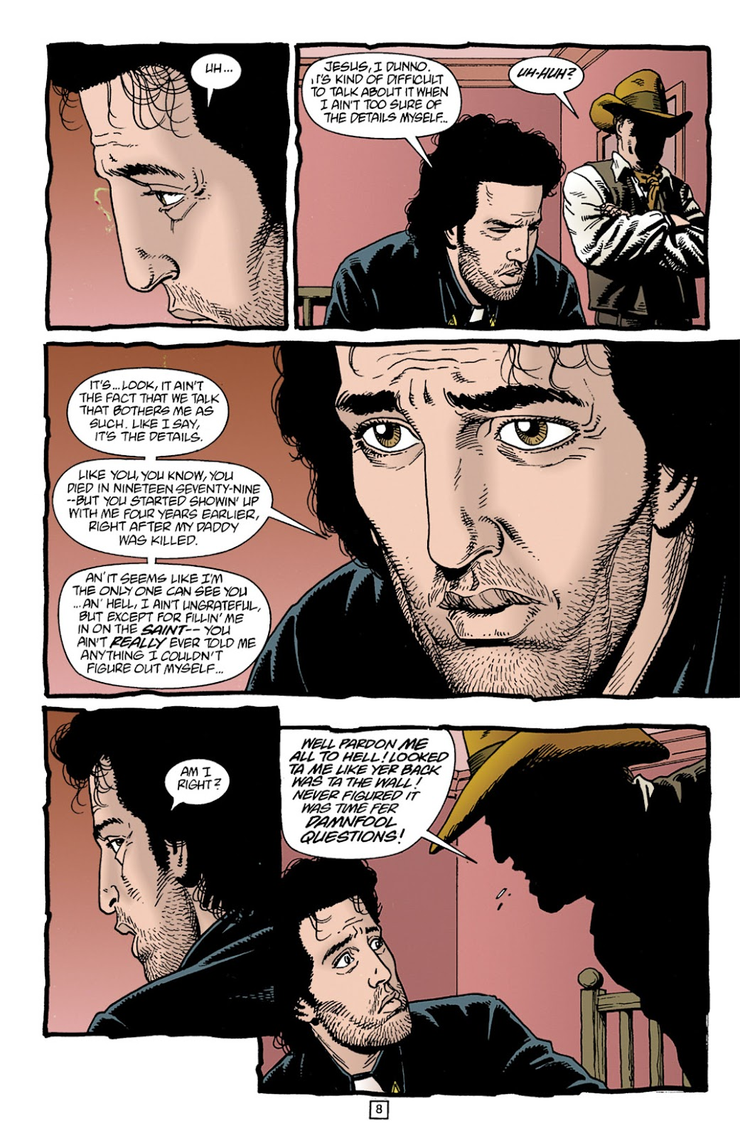 Preacher Issue #11 #20 - English 9