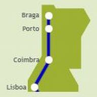 PASSEIO DE JORNALISTAS em Montalegre - de comboio até ao Porto...