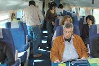 PASSEIO DE JORNALISTAS em Montalegre - de comboio até ao Porto