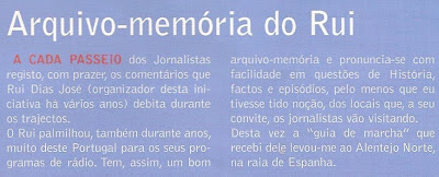 Café Portugal - PASSEIO DE JORNALISTAS no Alentejo - Rui Dias José