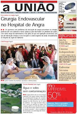 """Café Portugal - PASSEIO DE JORNALISTAS nos Açores - Jornal """"A União"""""""