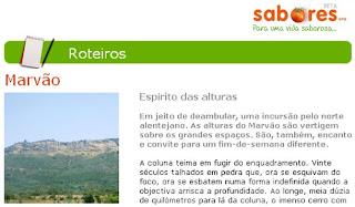 Café Portugal - PASSEIO DE JORNALISTAS em Marvão - Jorge Andrade