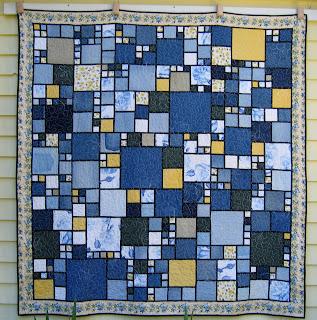 Free Pattern Friday – Denim Quilt | Katie's Quilting Corner : denim quilt - Adamdwight.com