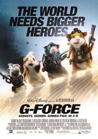 G-Force (2009) หน่วยจารพันธุ์พิทักษ์โลก