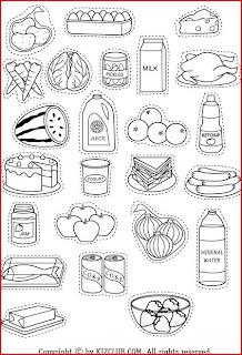 INGLES PARA NIÑOS (FICHAS): FOOD
