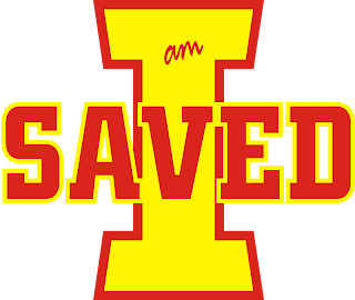 I Am Saved logo
