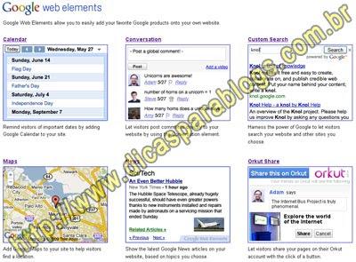 Gadgets para Blogs