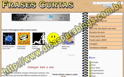 Frases Curtas