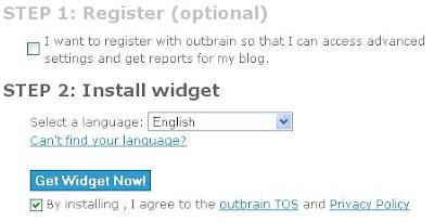 Registrar Blogger