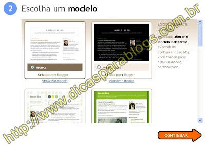 Modelos de Templates Blogger