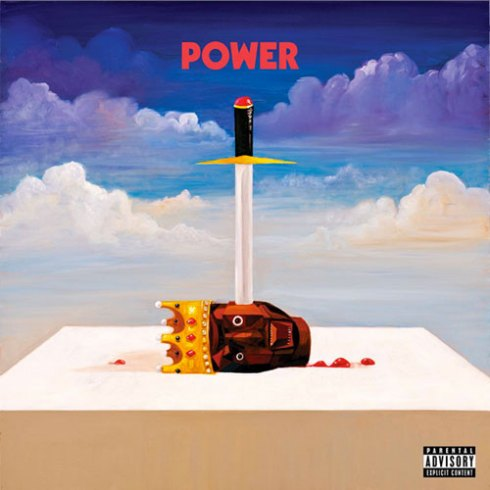 kanye west power album cover. +album+art+gary+numan+cars