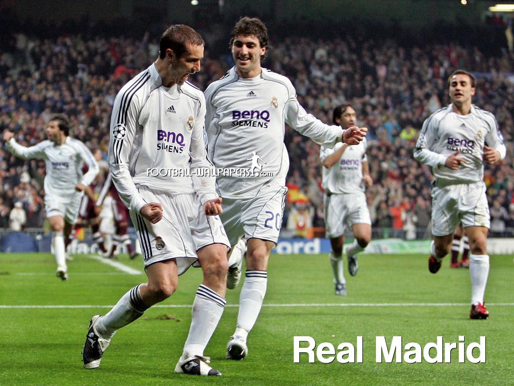 FOOTBALL PLAYERS: REAL MADRID