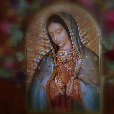 Bust of Our Lady of Guadalupe