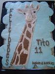 Kekos & Kookies en la Fiesta de Tito la Jirafa Parque Xenpal