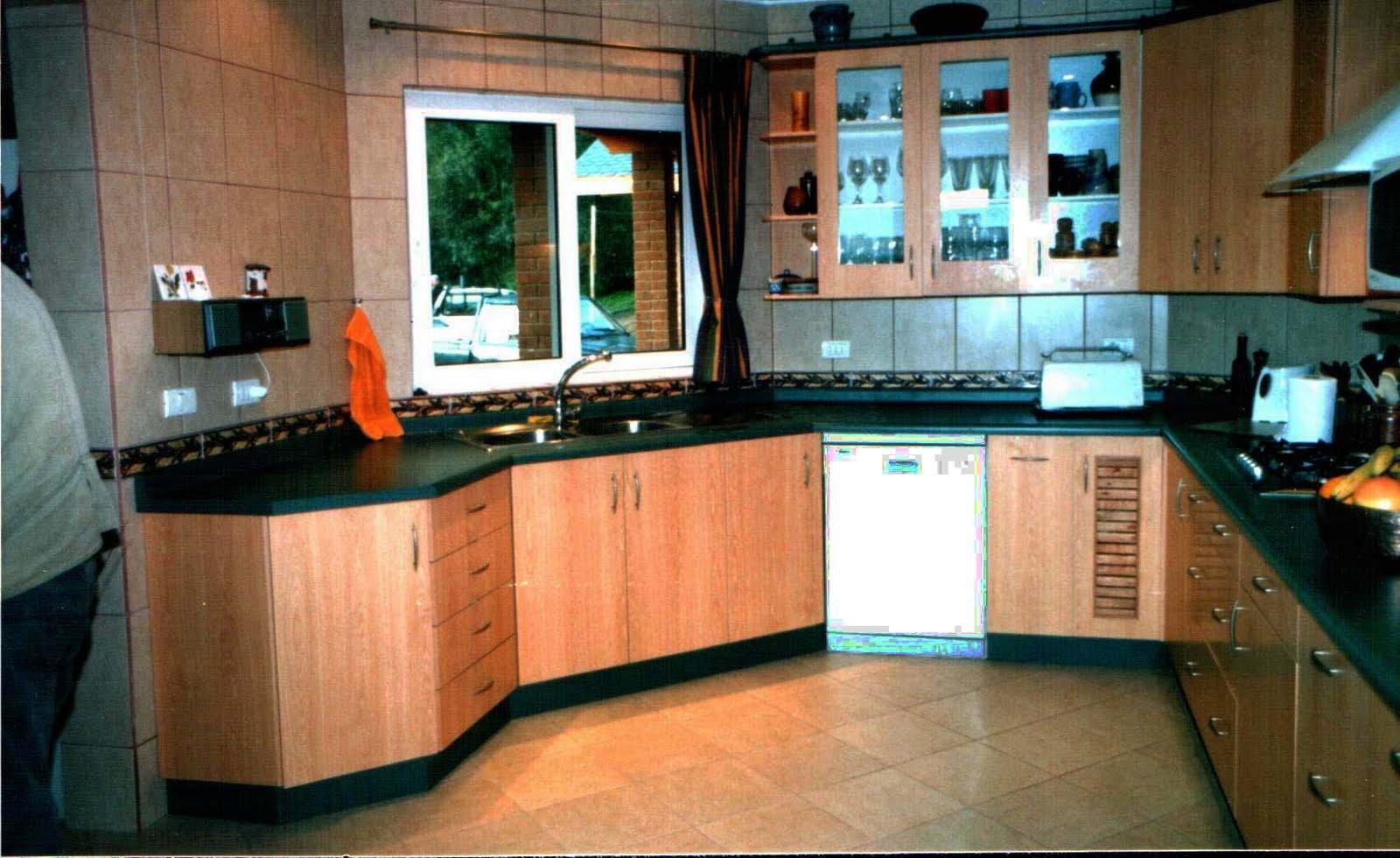 Formas y colores mucho m s que melamina cocinas en melamina for Modelos de muebles de melamina
